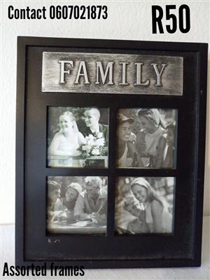 Family collage frame for sale