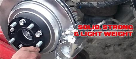 5 Stud Wheel Spacers for Toyota Land Cruiser - 45mm