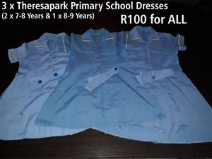 3 x Theresapark Primary School Dresses