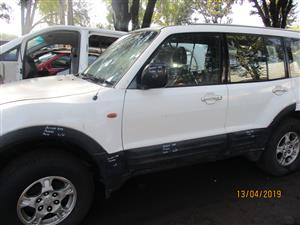 MITSUBISHI PAJERO GLX STRIPPING FOR SPARES