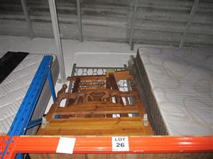 Single/ 3 quarter/ Double/ King size beds - ON AUCTION