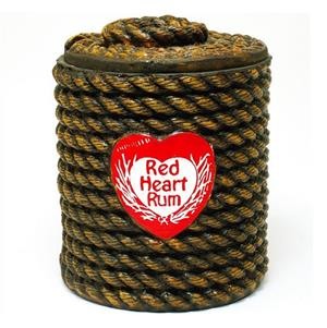Ice Bucket: Red Heart Premium Rum. Brand New Product.