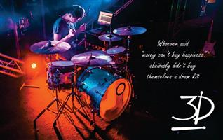 3D Drum School - Drum Lessons for everyone! Ages 7 to 70!