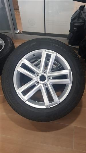 """19"""" Amarok mags and tyres"""