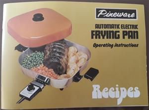 Brand new Pineware electric fryer
