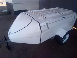 Fiber glass trailer