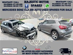 Mercedes benz CLA 200 stripping for spares for sale