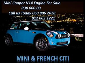 Mini Cooper N14 Engine for sale