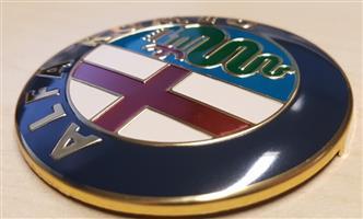 Alfa Romeo bonnet boot badges decals stickers vinyl cut graphics