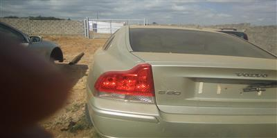 Logic Spares is selling a petrol Volvo S60 2.4 litre Turbo for spares