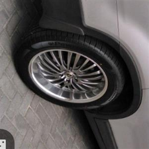Mags 20 inche with tyres