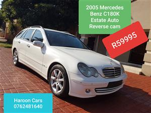 2005 Mercedes Benz C Class C180 estate