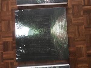 Original photos on canvas