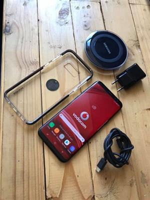 Samsung S8 Plus With Accessories