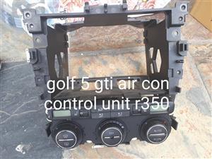 Golf 5 gti air con control unit for sale.