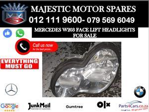 Mercedes benz W203 headlights for sale