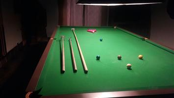 Full size Championship Snooker table in top condition