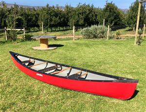 Pyranha traveler 16ft canoe
