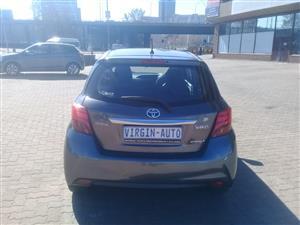 2014 Toyota Yaris hatch YARIS 1.5 XS CVT 5Dr