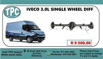 Iveco 3.0 Single Wheel Diff - For Sale at TPC