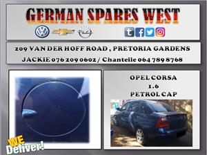 OPEL CORSA 1.6 USED PETROL CAP FOR SALE