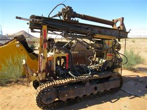 Remote Controlled Crawler Drill Rig