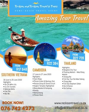 Affordable December Travel Group packages to Dubai, Bali, Thailand