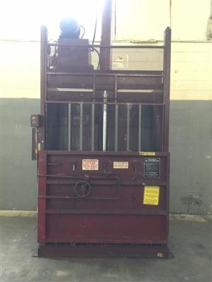 Heavy duty Vertical baler available for sale for private and commercial use