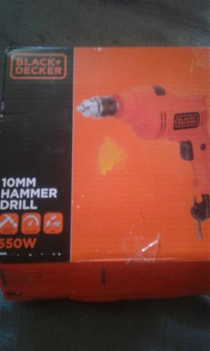 Black & Decker Boor