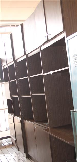 5 Piece brown wall unit S031098B #Rosettenvillepawnshop