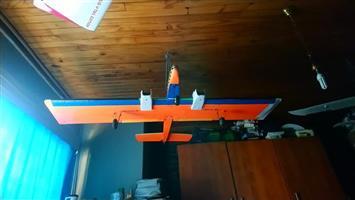 Twin 40size Nitro plane