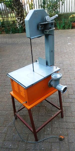 MEAT SAW WITH MEAT MINCER FOR SALE