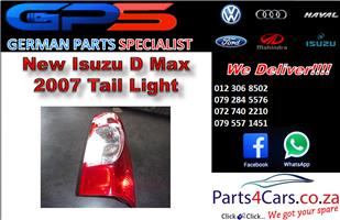 New Isuzu D Max 2007 Tail Light for Sale