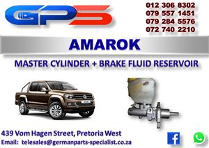 VW Amarok Master Cylinder + Brake Fluid Reservoir  Used Part for Sale