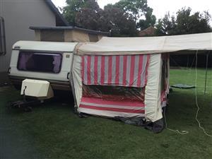 Sprite Sport 6 Sleeper Caravan