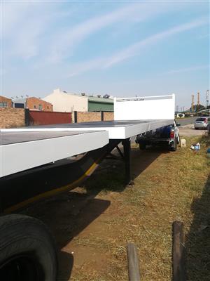 SATB Superlink flat deck trailer for sale