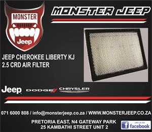 Jeep Cherokee Liberty KJ 2.5 CRD Air Filter / Service kits / Service parts