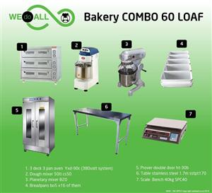 Bakery Combo 60 Loaf BC60L