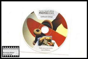 Canon SA Photo Books Software CD