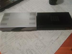 TWO DSTV DECODERS  (ONE IS PVR)