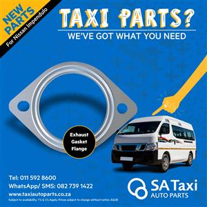 Exhaust Flange Gasket  for Nissan NV350 Impendulo - SA Taxi Auto Parts quality taxi spares