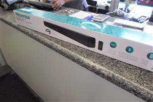 """Hisense 38"""" 2.0 Channel Sound Bar"""