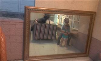 Very large mirror