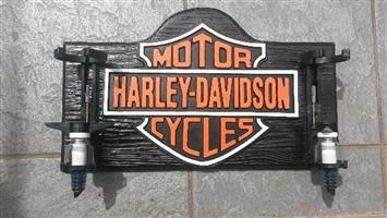 Liquor Dispenser: Harley Davidson MotorCycles with 2 Optics. Brand New Product.