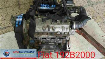 Imported used FIAT BRAVO 1.4L TURBO, 192B2000, Complete second hand used engines