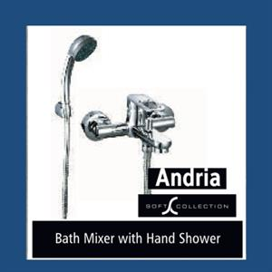 Tabs - Bath Mixer with Shower hand