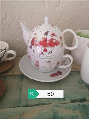 3 Piece tea set for sale