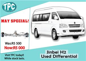 Jinbei H2 Used Differential For Sale at TPC