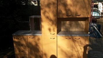 3 piece kitchen cupboard
