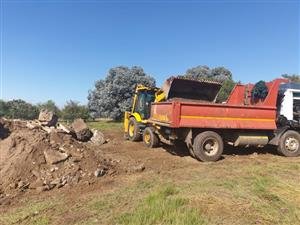 Rubble Removal Services in Pretoria From Only R700/Load(Labour & Dumping Fees Included In The Price)